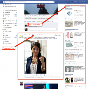 Facebook-ScreenShot-Sponsored posts on Facebook
