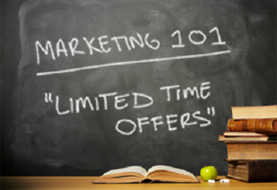 Limited-Time offers-retargeting