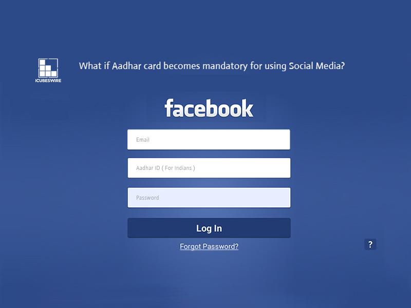 adhaar card for social media